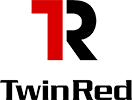 twin red logo